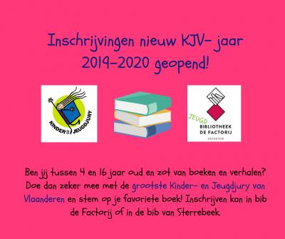 Oproep nieuw KJV- leesjaar 2019- 2020